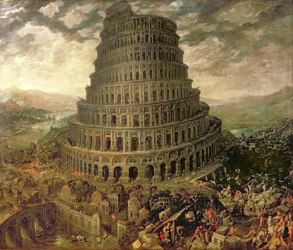 La Tour de Babel par Tobias Verhaecht